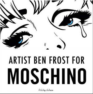 BenFrostisDead Comes to Life in Collaboration with Moschino's Jeremy Scott