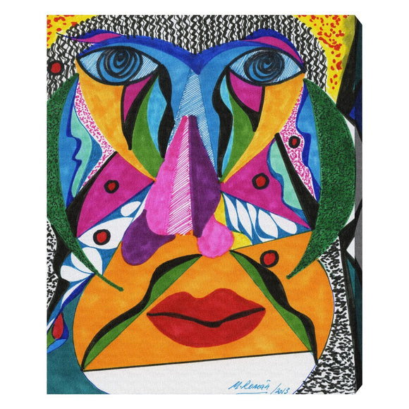'Her Face' Canvas Art - PoppyLy