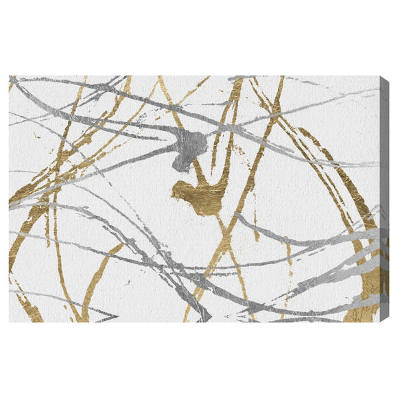 'Precious Metals' Canvas Art - PoppyLy