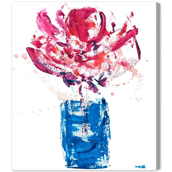 'You've Gone to My Head' Canvas Art - PoppyLy