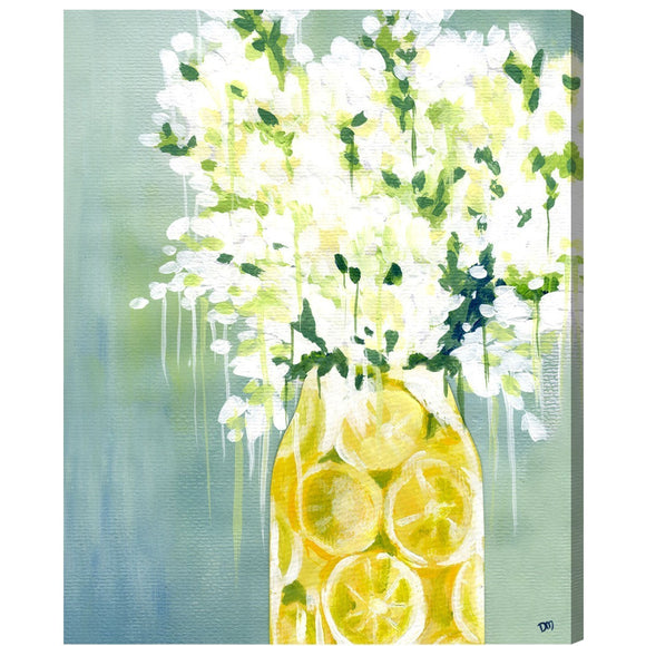 'Limoncello' Canvas Art - PoppyLy