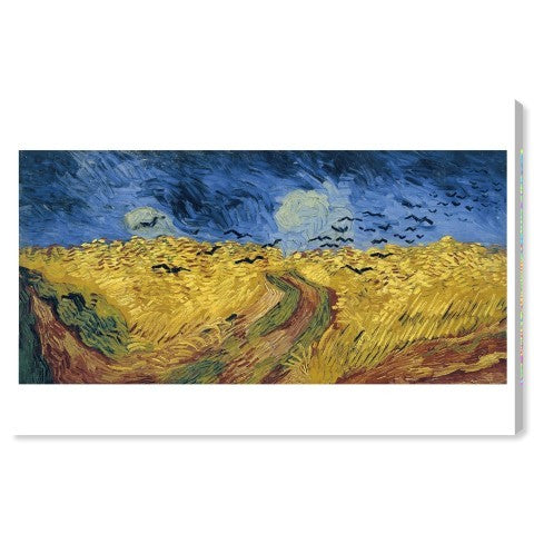 Van Gogh - Wheatfield with Crows - PoppyLy
