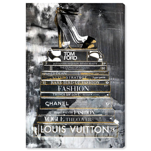 'Clear Fashion Thoughts Night' Canvas Art - PoppyLy