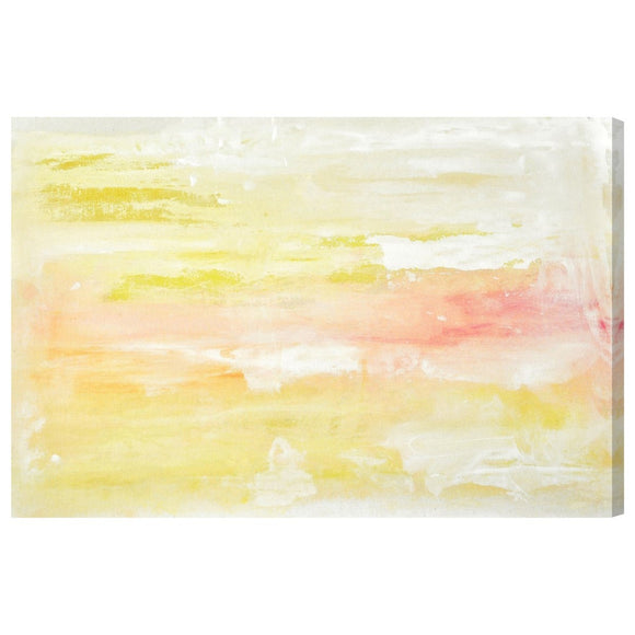 'Peaceful Sunset' Canvas Art - PoppyLy