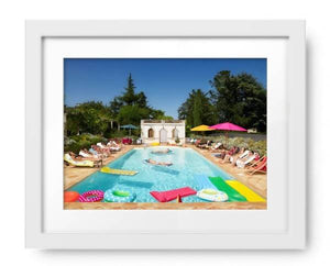 Summer Around the Pool by Ghislain & Marie David de Lossy, Photos.com by Getty Images - PoppyLy