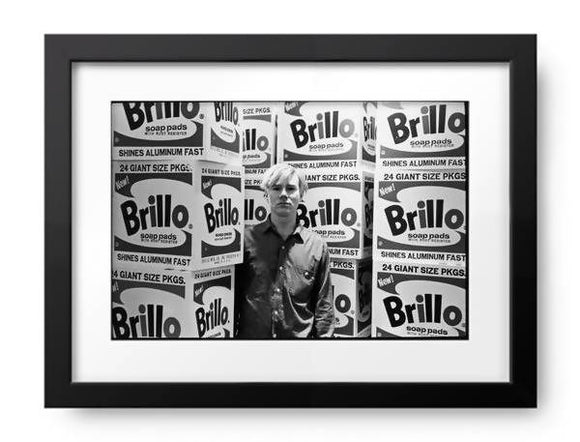 Warhol & Brillo Boxes At Stable Gallery by Fred W McDarrah, Photos.com by Getty Images