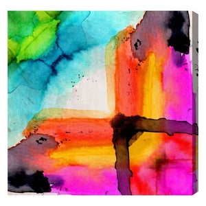 'Composition Number VI' Canvas Art - PoppyLy