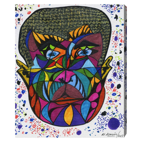 'His Face' Canvas Art - PoppyLy