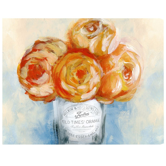 'Orange Juice' Canvas Art - PoppyLy