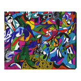 'Cacophony' Canvas Art - PoppyLy