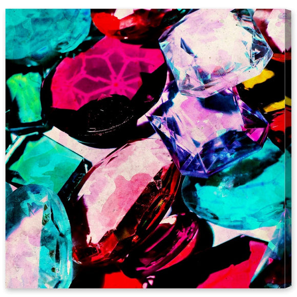 'Crown Jewels' Canvas Art - PoppyLy