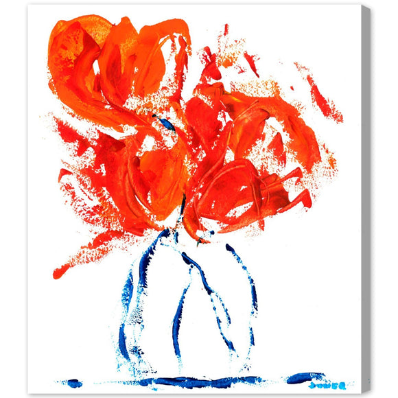 'All Wrapped Up by Claire Sower' Canvas Art - PoppyLy