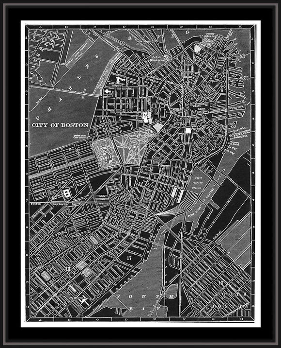 Map of Boston - PoppyLy