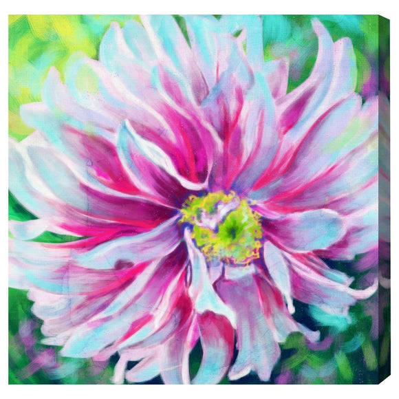 'Neorose' Canvas Art - PoppyLy