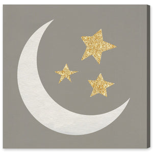 Couture Moon & Stars Sign - PoppyLy