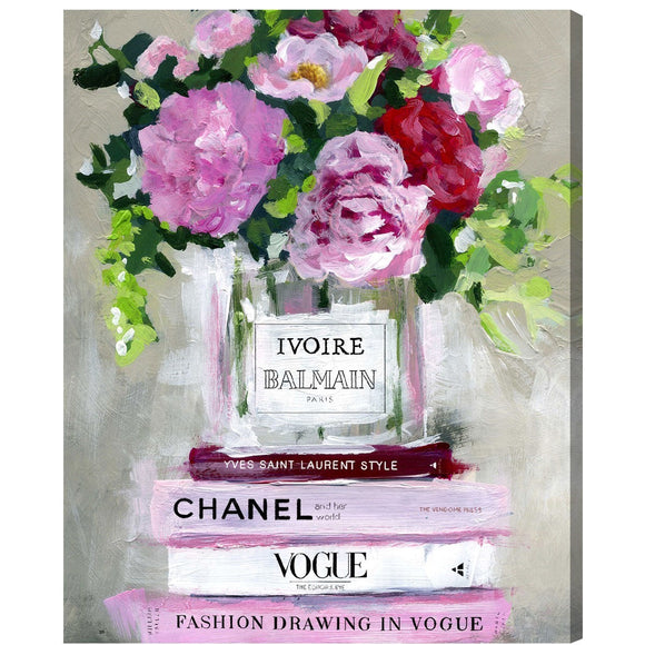 'Florale V2' Canvas Art - PoppyLy