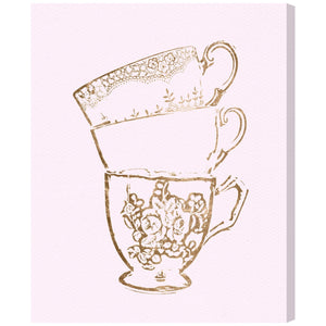 'Tea Time' Canvas Art - PoppyLy