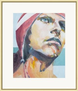 """Mack""by Victoria Angeline, Framed Fine Art Print - PoppyLy"