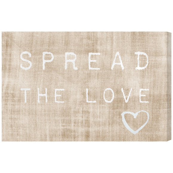 'Spread the Love' Canvas Art - PoppyLy