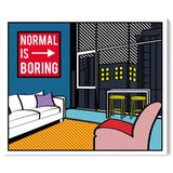 ' Living In The City' Canvas Art - PoppyLy