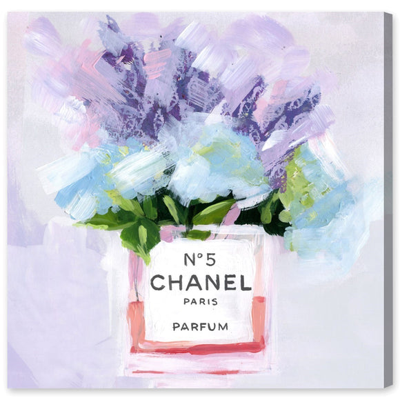 'Paris N5' Canvas Art - PoppyLy