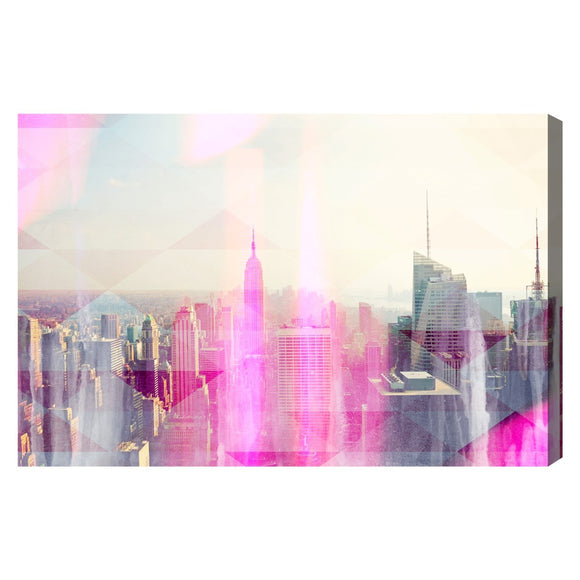 'New Yorker' Canvas Art - PoppyLy
