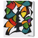 'Rhythmus' Canvas Art - PoppyLy
