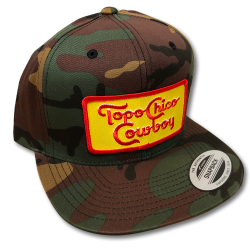 Topo Chico Cowboy Adjustable Cap - Camo
