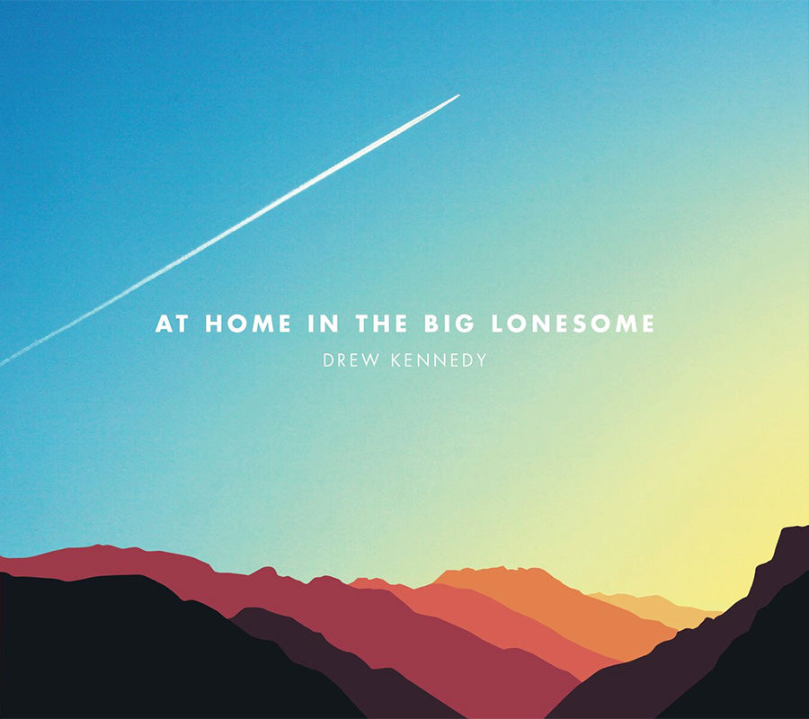 AT HOME IN THE BIG LONESOME - VINYL