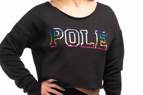POLE Cropped Sweatshirt