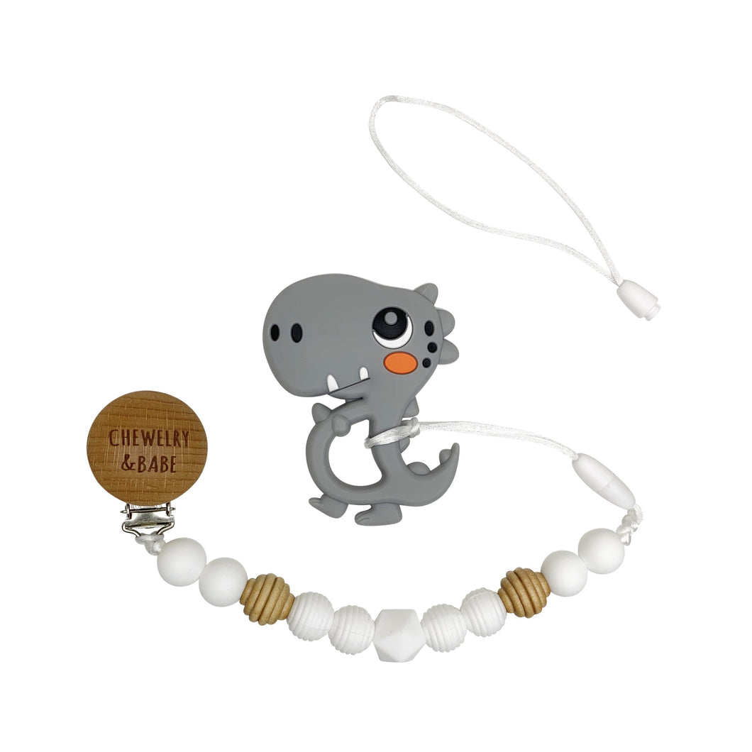 Pacifier Clip & Teething Toy