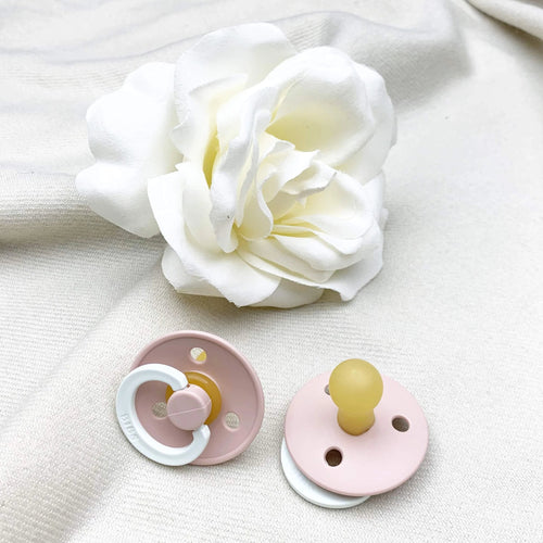 Bibs Pacifier Single - Size 1 - Blush Glow