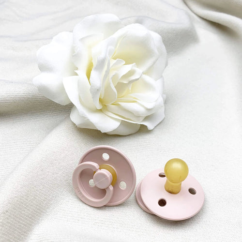 Bibs Pacifier Single - Size 2 - Blush