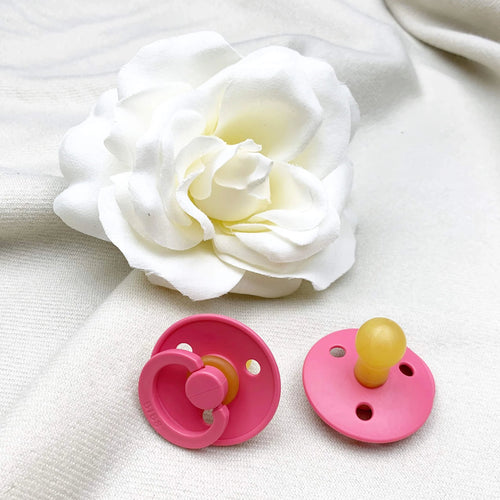 Bibs Pacifier Single - Size 1 - Coral