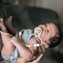 "Load image into Gallery viewer, ""The Cardi"" Original Pacifier Clip"