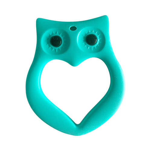 Teether - Owl Teal