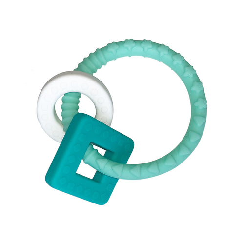 Teether - Teal Ring