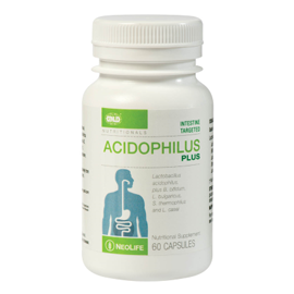 Acidophilus Plus - 60 Capsules