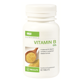 Vitamin B Complex Sustained Release - 60 Tablets