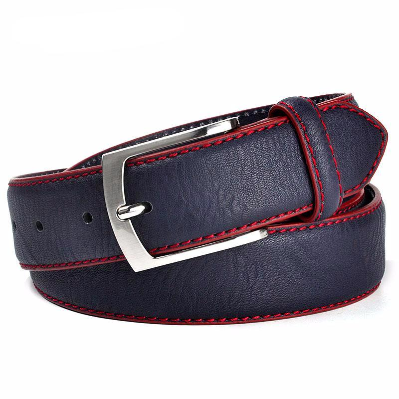 Fashion High Quality Brand Man Belt Split Leather Belt Italian Design Casual Men's Leather Belts For Jeans For Man Free Shipping