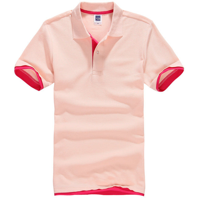 Polos Men Cotton Short Sleeve jerseys golf/tennis