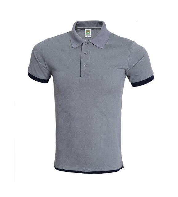 Polo Shirts Fashion Casual Short Sleeve Men Polo Size XS-XXXL