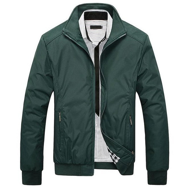 Men's Casual Jacket High Quality Slim Jacket
