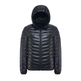 New Casual Brand White Duck Down Jacket Men Autumn Winter Warm Coat Men's Ultralight Duck Down Jacket Male Windproof Parka