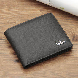 Wallet Men soft leather wallet Multifunction big capacity Top Quality Men wallets purse with coin pocket
