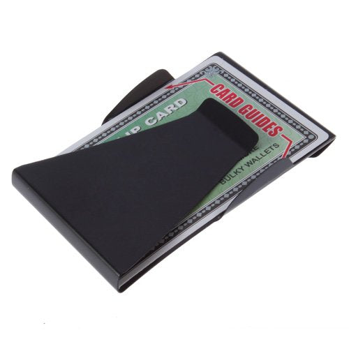 1pcs Arrival Stainless Steel Money Clip metal Business Card Credit Card Cash Wallet Polished Free Shipping Brand Worldwide sale