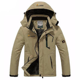 UNCO&BOROR winter jacket men women`s outwear fleece thick warm cotton down coat waterproof windproof parka men brand clothing