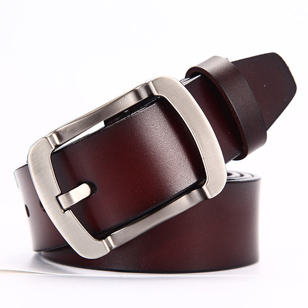 Men's genuine leather luxury belts for men