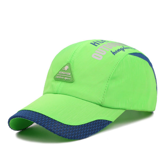 Running Caps UV Protection Adjusted Hiking Visor Caps Men Women Climbing Fishing Running Baseball Hats