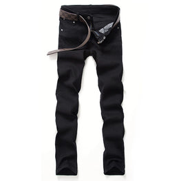 Mens fashion slim jeans